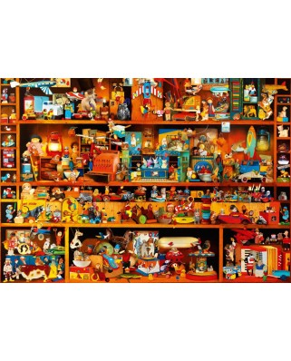 Puzzle Bluebird - Toys Tale, 1.000 piese (70345-P)