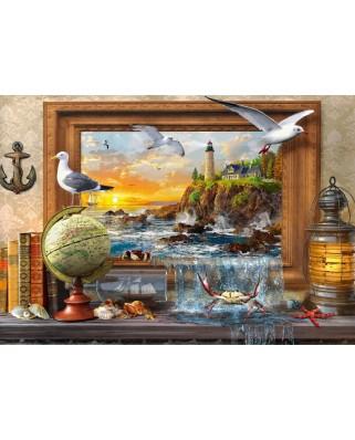 Puzzle Bluebird - Dominic Davison: Marine to Life, 1000 piese (70346-P)