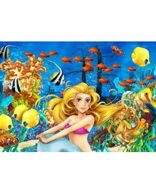 Puzzle Bluebird - Mermaid, 150 piese (70347)