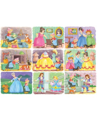 Puzzle Bluebird - Cinderella, 100 piese (70354)
