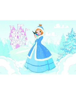Puzzle Bluebird - Princess in the Snow, 48 piese (70358)