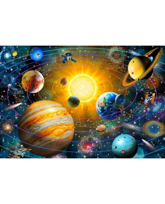Puzzle Bluebird - Ringed Solar System, 260 piese (70383)