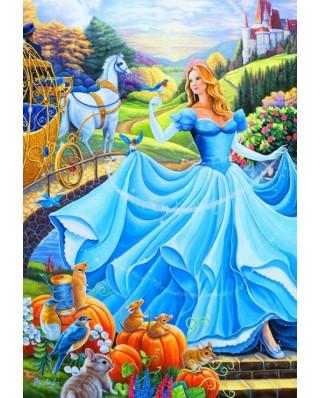 Puzzle Bluebird - Cinderella, 260 piese (70389)