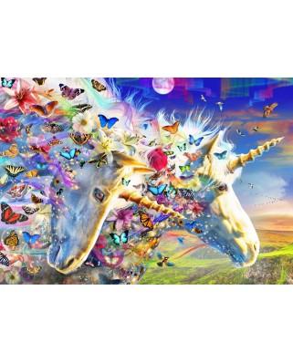 Puzzle Bluebird - Unicorn Dream, 150 piese (70397)