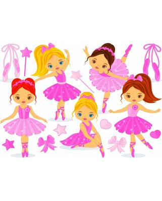 Puzzle Bluebird - Little Ballerinas, 150 piese (70403)