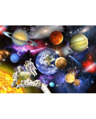Puzzle Bluebird - Outer Space, 150 piese (70407)