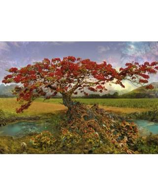 Puzzle Heye - Andy Thomas: Strontium Tree, 1.000 piese (29909)