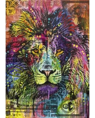 Puzzle Heye - Dean Russo: Lion's Heart, 2.000 piese (29894)
