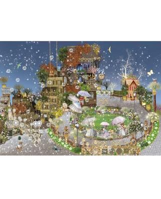 Puzzle Heye - Ilona Reny: Fairy Park, 1.000 piese (29919)