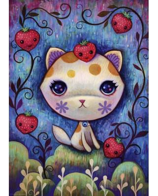 Puzzle Heye - Jeremiah Ketner: Strawberry Kitty, 1.000 piese (29895)