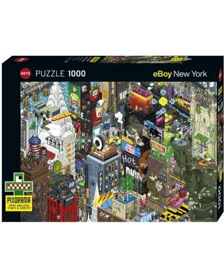Puzzle Heye - New York Quest, 1.000 piese (29914)