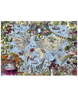 Puzzle Heye - Quirky World, 2.000 piese (29913)