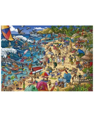 Puzzle Heye - Seashore, 1.000 piese (29922)