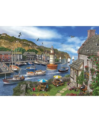 Puzzle KS Games - Dominic Davison: The Village Harbour, 2.000 piese (11386)