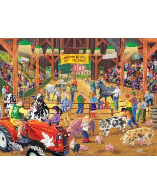 Puzzle SunsOut - 4 H Fair, 300 piese XXL (38713)