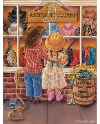 Puzzle SunsOut - A Bit of Country, 300 piese XXL (35871)