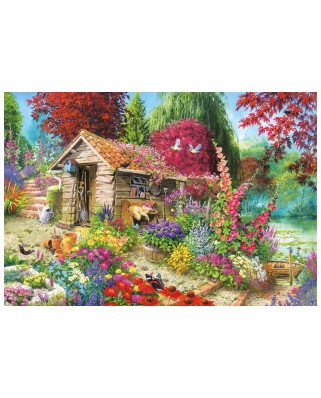 Puzzle Gibsons - A Dog's Life, 500 piese (54203)