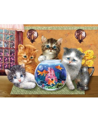 Puzzle SunsOut - Anyone Looking?, 300 piese XXL (37149)