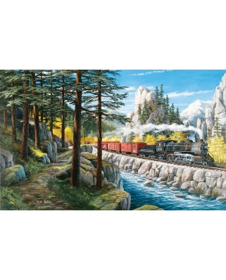 Puzzle SunsOut - Around the Horn, 300 piese XXL (39324)