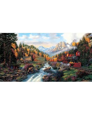 Puzzle SunsOut - Autumn Run, 500 piese XXL (26213)