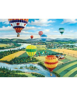 Puzzle SunsOut - Ballooner's Rally, 500 piese XXL (39488)