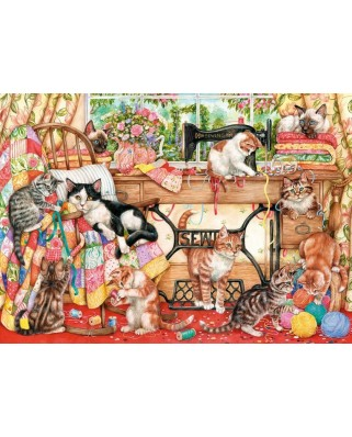 Puzzle Gibsons - A Lost Stitch, 1.000 piese (12277)