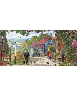 Puzzle Gibsons - A Morning Stroll, 636 piese (65099)