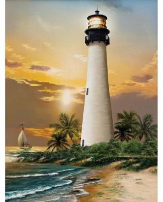 Puzzle SunsOut - Cape Florida Lighthouse, 500 piese XXL (28838)