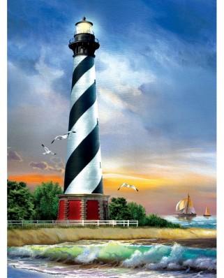 Puzzle SunsOut - Cape Hatteras Lighthouse, 500 piese XXL (28835)