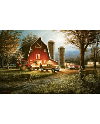 Puzzle SunsOut - Chuck Black: Harvest Nights, 550 piese (55193)