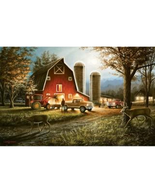 Puzzle SunsOut - Chuck Black: Harvest Nights, 550 piese (Sunsout-55193)