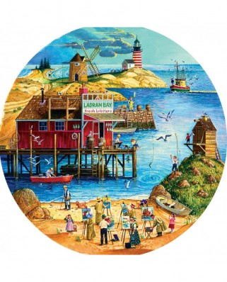 Puzzle SunsOut - Fresh Lobster, 500 piese XXL (14035)