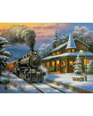 Puzzle SunsOut - Holiday Ltd., 500 piese XXL (36637)