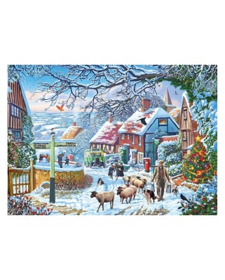 Puzzle Gibsons - A Winter Stroll, 1.000 piese (65127)