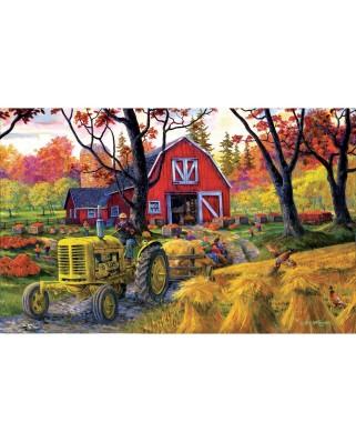 Puzzle SunsOut - Joseph Burgess: Farm Fall Festival, 550 piese (38884)