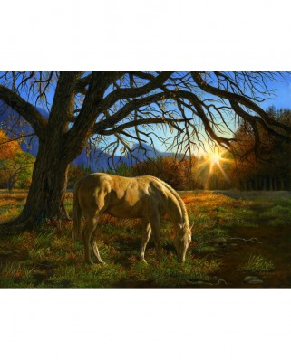 Puzzle SunsOut - Karla Mann: Pastoral Sunset, 1.000 piese (26294)