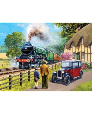 Puzzle SunsOut - Kevin Walsh: The Flying Scotsman, 1.000 piese (13713)
