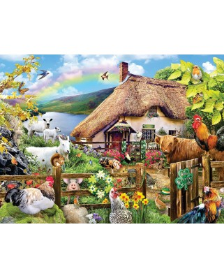 Puzzle SunsOut - Luck of the Irish, 300 piese XXL (Sunsout-35006)