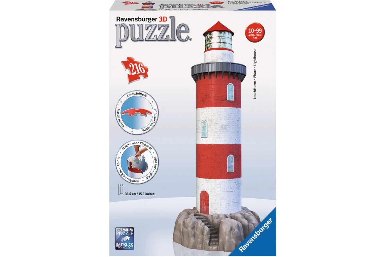 Puzzle glob Ravensburger - Far, 216 piese (12565)