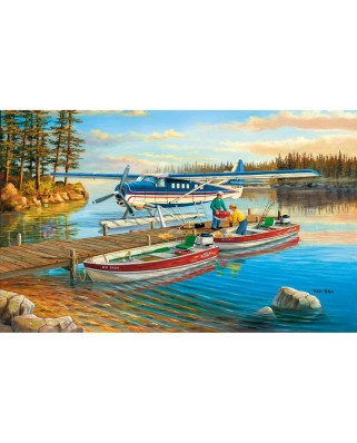 Puzzle SunsOut - Pickle Lake, 300 piese XXL (Sunsout-39304)