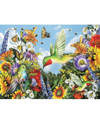 Puzzle SunsOut - Save the Bees, 300 piese XXL (Sunsout-34940)