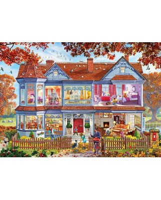 Puzzle Gibsons - Autumn Home, 1.000 piese (65065)