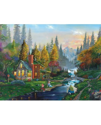 Puzzle SunsOut - Weekend Getaway, 1.000 piese (Sunsout-60429)
