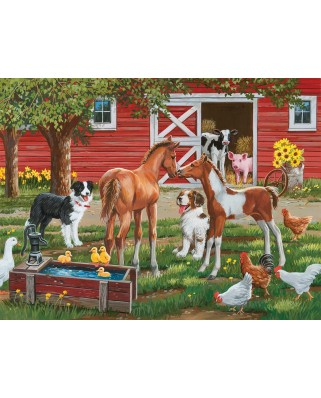 Puzzle SunsOut - Welcome the New Pony, 300 piese XXL (30410)