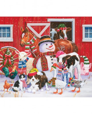 Puzzle SunsOut - William Vanderdasson: Ready for Winter, 300 piese XXL (30446)