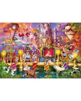 Puzzle Clementoni - Ciro Marchetti: The Circus, 2.000 piese (32562)