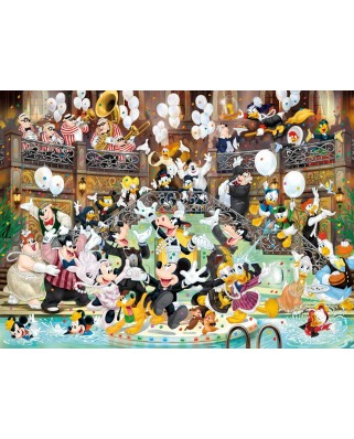 Puzzle Clementoni - Mickey - 90 Years of Magic, 1.000 piese (39472)