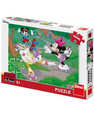 Puzzle Dino - Minnie, 100 piese XXL (34346)