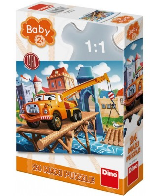 Puzzle Dino - Baby Puzzle, 24 piese XXL (35020)