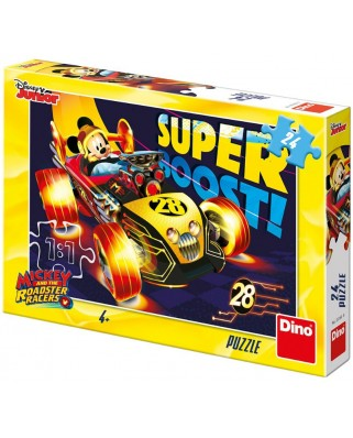 Puzzle Dino - Mickey and The Roadster Racers, 24 piese (35160)